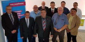 Vertreter der ArbeitnehmerInnen in der Vollversammlung der Handwerkskammer Kassel 2019