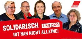 Nordhessische DGB-Kreisvorsitzende 1. Mai 2020