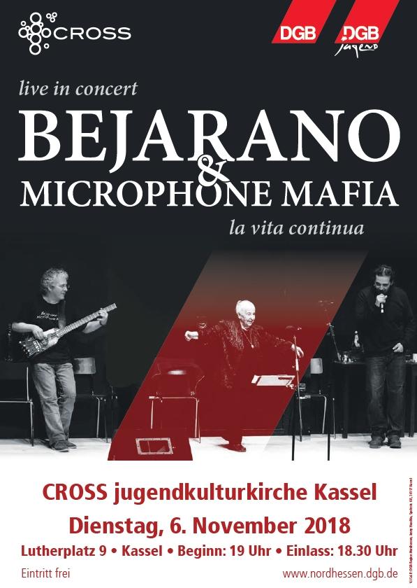 Esther Bejerano und Microphone in Kassel