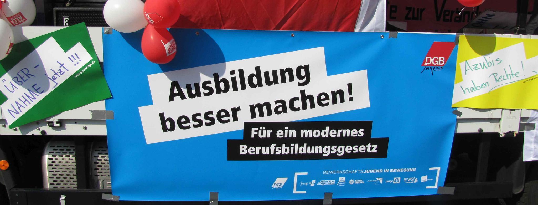 1. Mai in Kassel Jugend