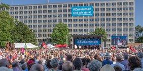 Zusammen sind wir stark - Kundgebung in Kassel am 27.06.2019