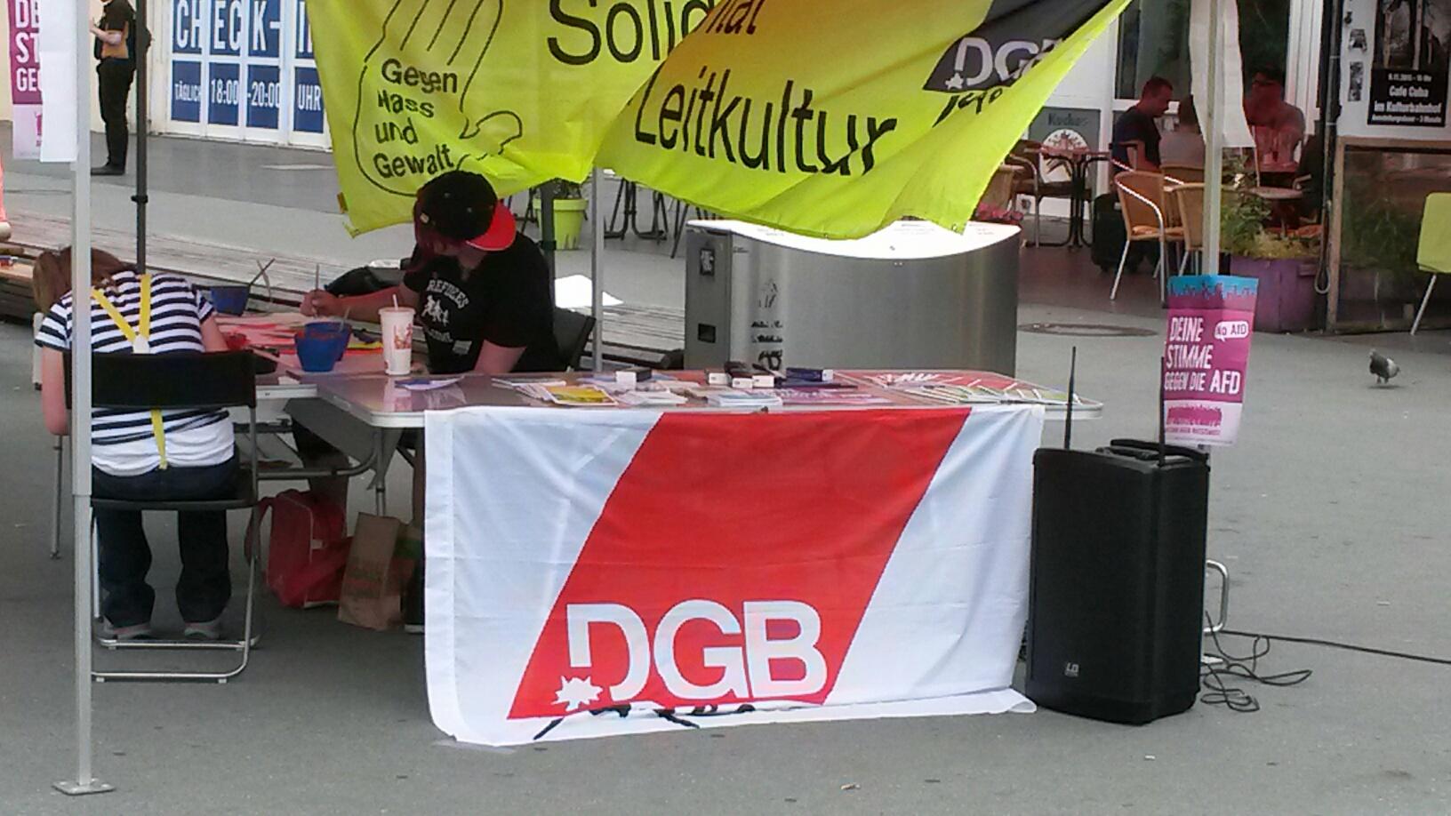 Infostand DGB-Jugend