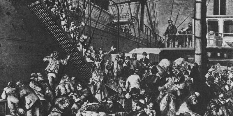 """August Spies: """"Ich war erstaunt und erschrocken über die Lage der Lohnarbeiter der 'neuen' Welt."""""""