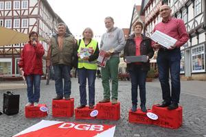Aktionstag in Fritzlar und Borken