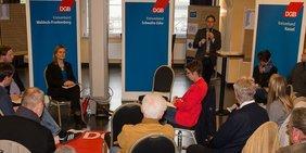 DGB-Veranstaltung zur Europawahl in Wabern